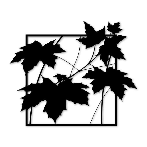 Escultura de Parede Folhas