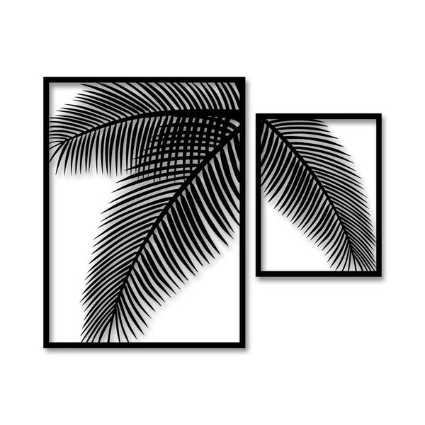 Kit Esculturas de Parede Árvore Ramos