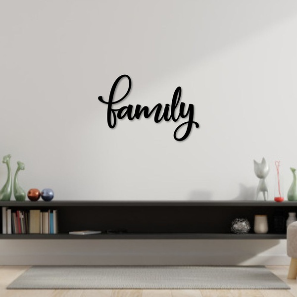 Palavra de Parede Family