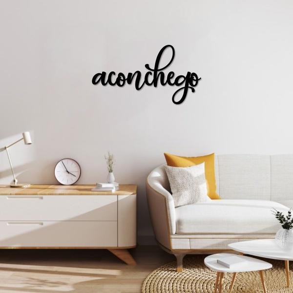 Palavra de Parede Aconchego