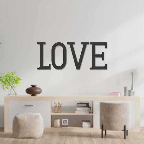 Palavra de Parede LOVE