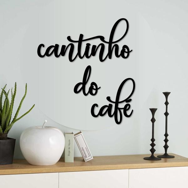 Kit Palavras de Parede Cantinho do Café