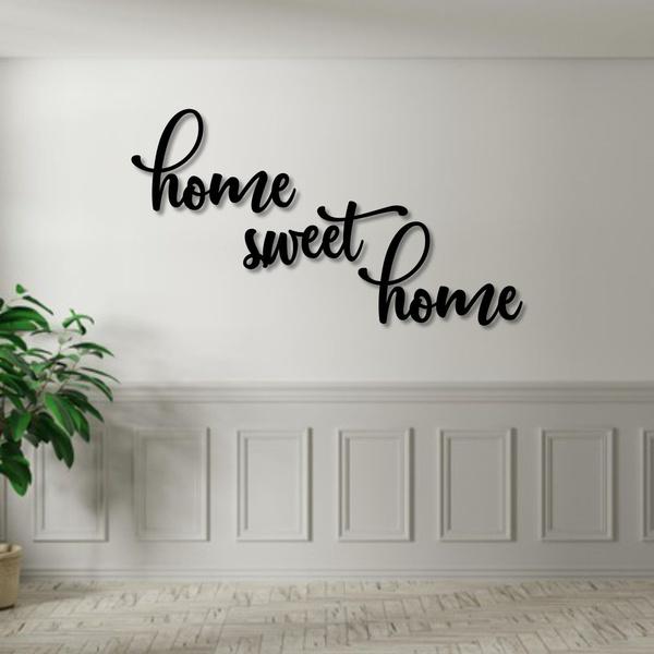 Kit Palavras de Parede Home Sweet Home