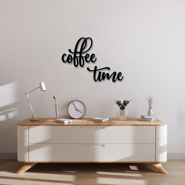 Kit Palavras de Parede Coffee Time
