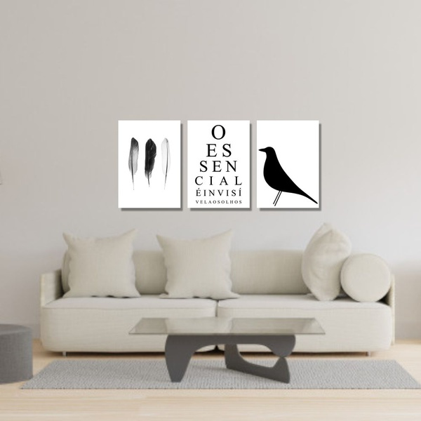 Kit Quadros Decorativos O Essencial
