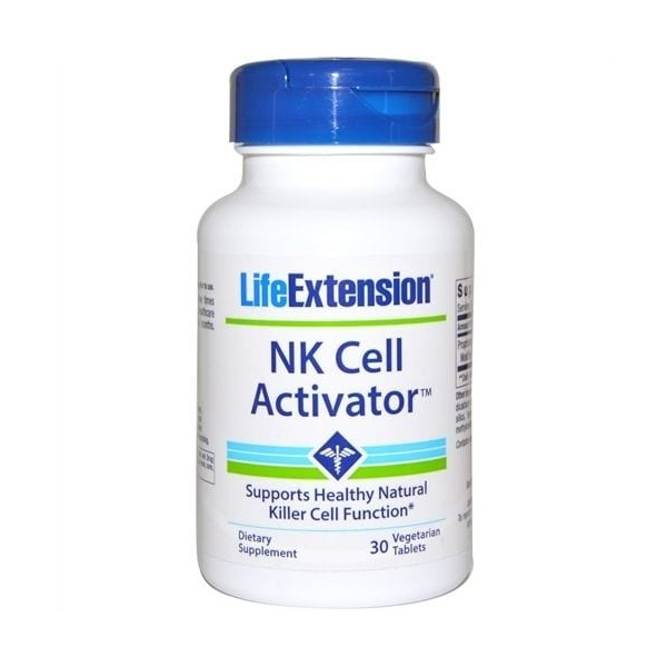 NK Cell (Natural Killer Ativador Celular) - Life Extension - 30 Veggie Tabs