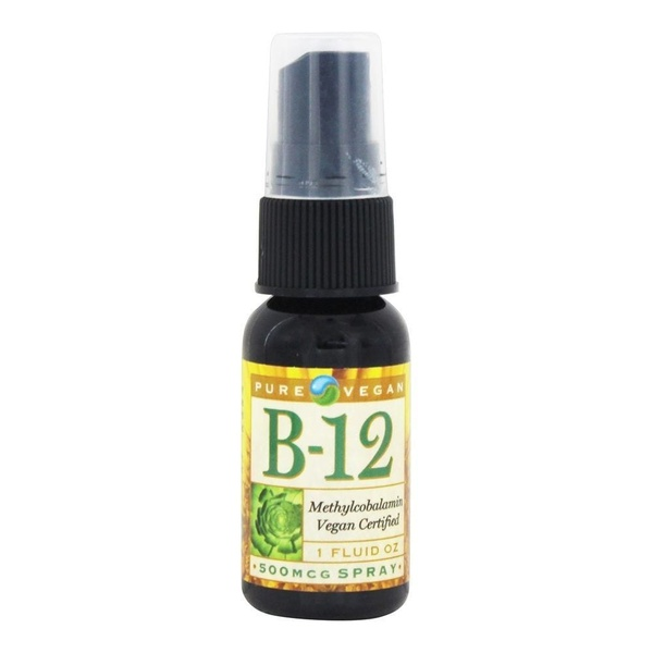 Spray B-12(Methylcobalamina) Vegana - 500 mcg - Pure Vegan - 30ml