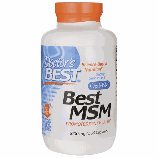 Best MSM - Doctor`s Best - 1.000mg - 360 caps