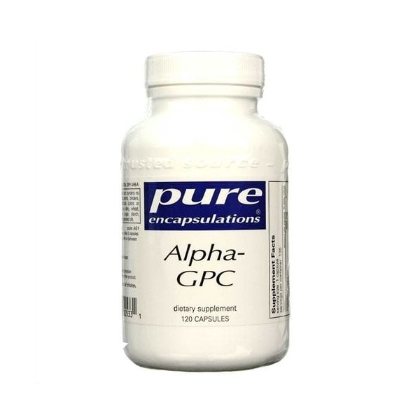 Alpha-GPC, Pure Encapsulations, 200mg, 120 caps