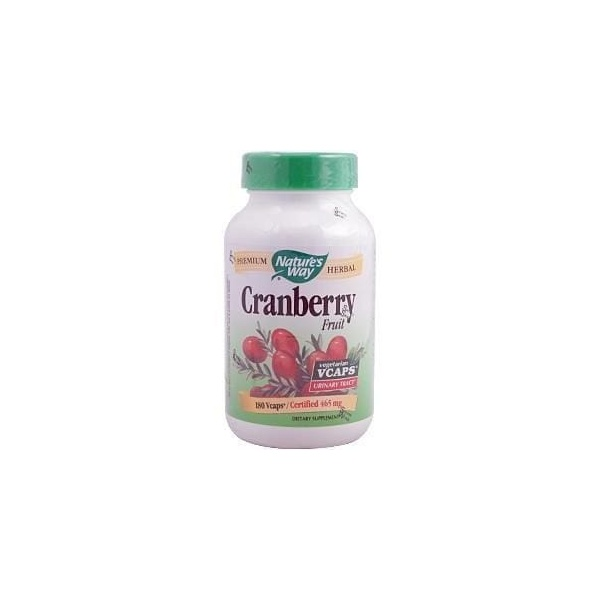 Cranberry Fruit, Nature`s Way - 465 mg - 180 Vcaps