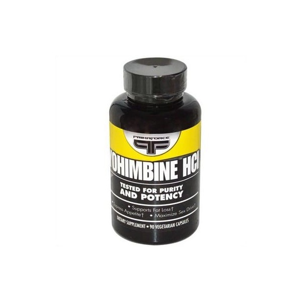 Yohimbine HCI - Primaforce - 2,5 mg - 90 Veggie Caps