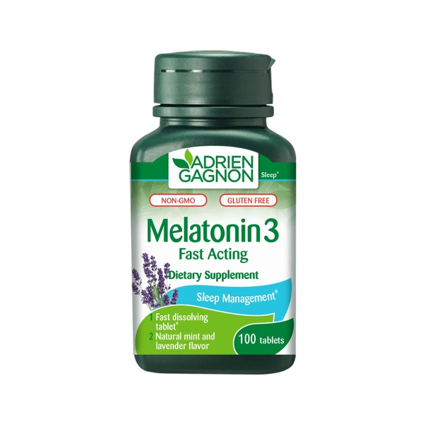 MELATONINA SUBLINGUAL 3 MG - 100 COMPRIMIDOS