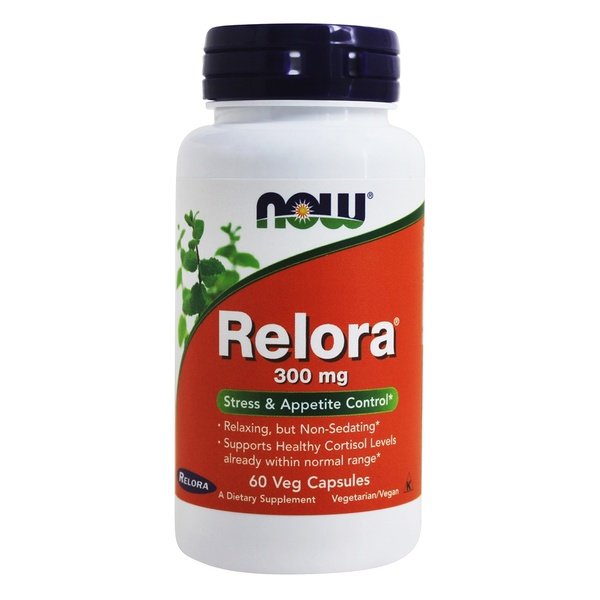 Relora - Now Foods - 300 mg - 60 Vcaps