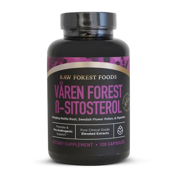 Varen Forest ß-Sitosterol - Raw Forest Foods - 120 Capsules