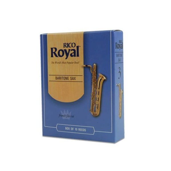 Palheta Para Sax Barítono Rico Royal