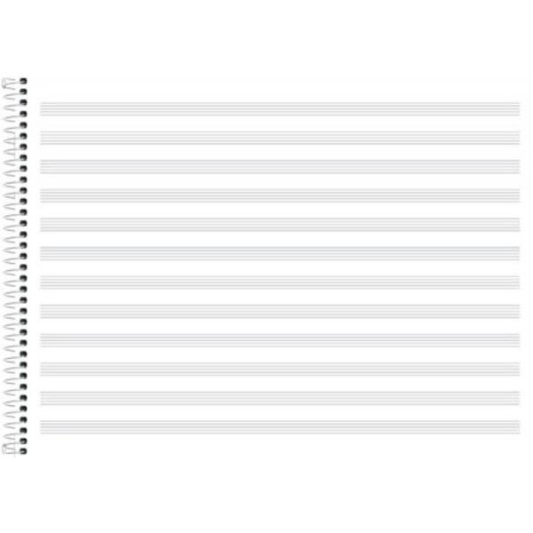 Caderno De Música Pequeno