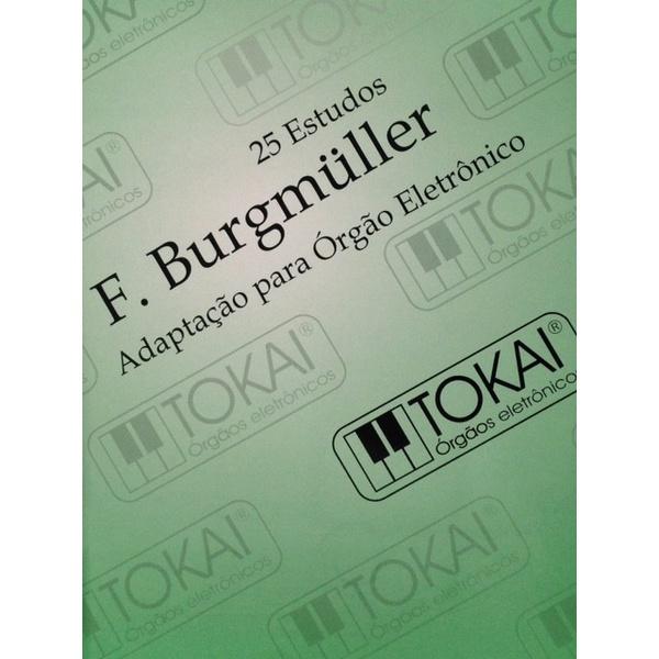 Método Para Orgão Eletrônico Burgmuller Com Pedaleira