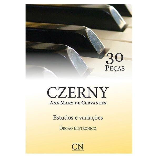 Método Para Orgão Eletrônico Czerny 30 Peças Com Pedaleira (Estudos E Variações)