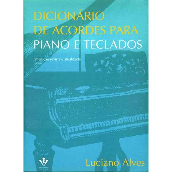 Método Dicionário De Acordes Para Piano e Teclado