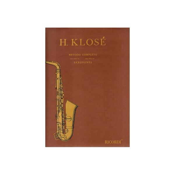 Método Para Saxofone Klosé