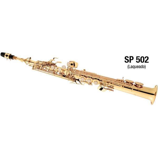 Sax Soprano Laqueado Eagle