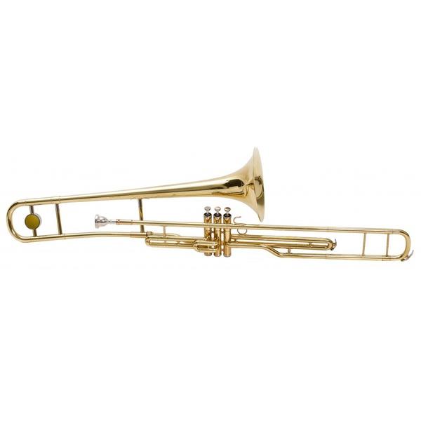 Trombone De Pisto (Longo) em Bb Jahnke