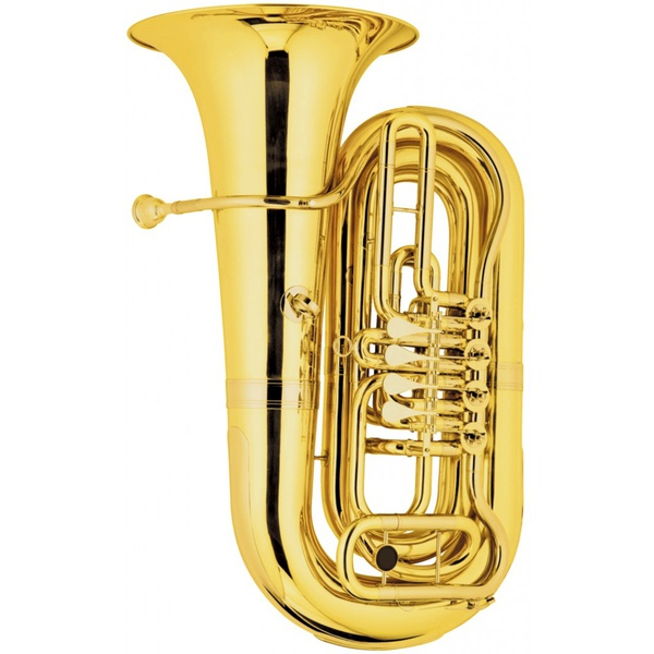 Tuba Sinfônica 4/4 4 Rotores Laqueada Hoyden