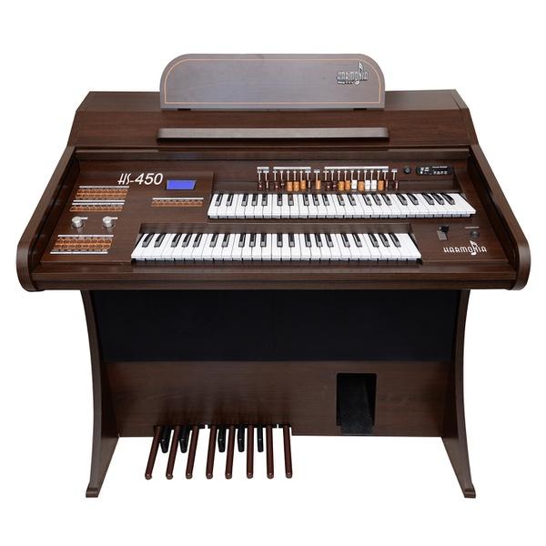 Orgão Eletrônico Harmonia Hs-450 Tabaco