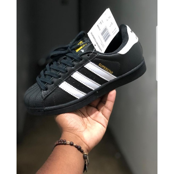 TÊnis Adidas Superstar Foundation Preto/branco - Importado