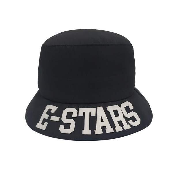Chapéu BUCKET E-Stars Rip Stop Preto