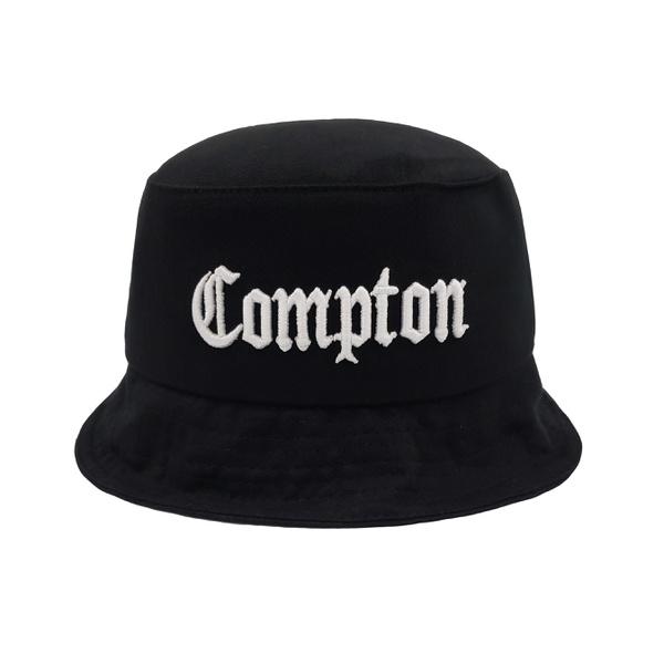 Chapéu BUCKET E-Stars Preto Compton