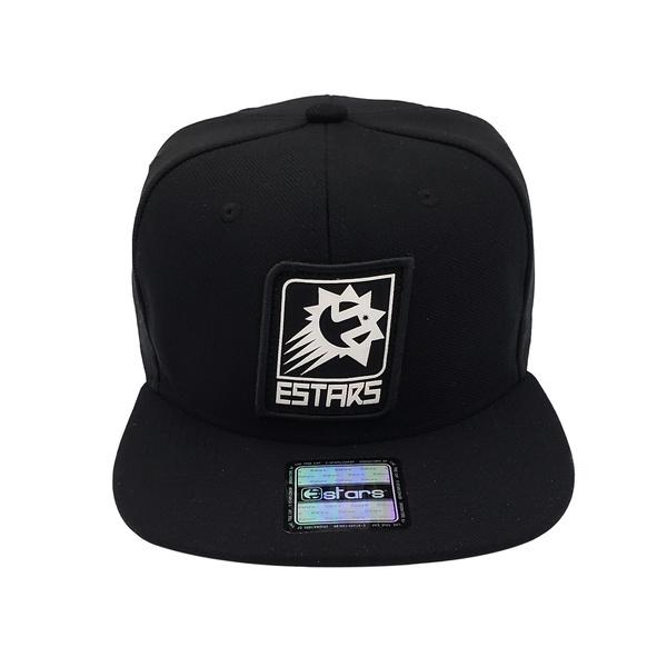 Boné Snapback E-Stars Aba Reta Preto
