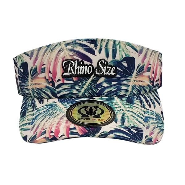 Viseira Feminina Rhino Size Aba Curva Tropical