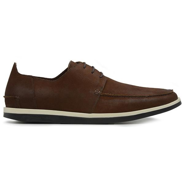 Sapato Casual Masculino Couro Café
