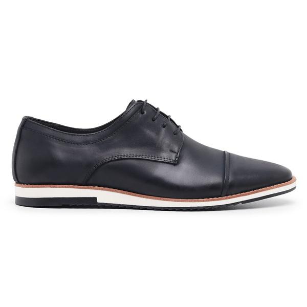 Sapato Casual Masculino Couro Nobuck Preto Riccally