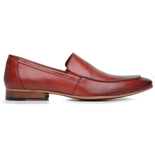 Sapato Social Slip Masculino Vermelho