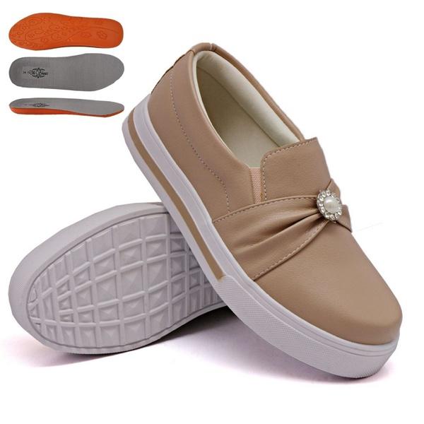Slip On Pérola Rosê DKShoes