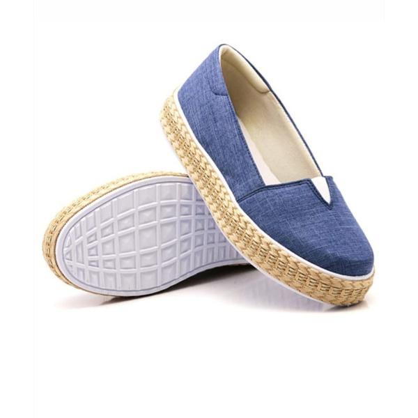 Sapatilha Pietra Corda Jeans Claro DKShoes