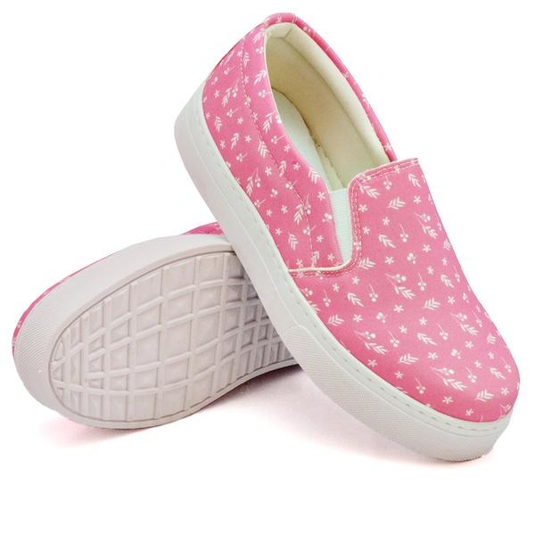 Slip On Estampado Pink DKShoes