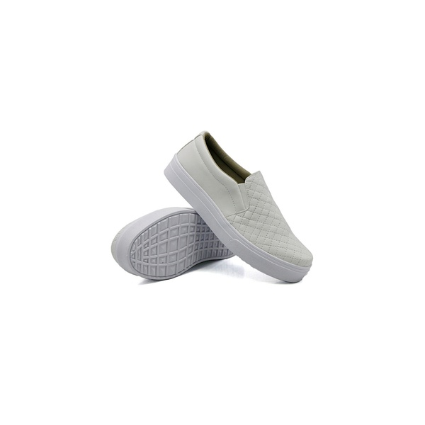 Slip On Matelassê Infantil Branco DKShoes