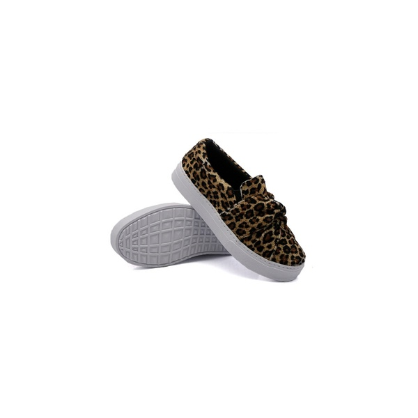 Slip On Nó Infantil Onça DKShoes Animal Print