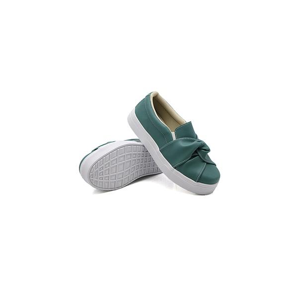 Slip On Nó Infantil Verde Pino DKShoes