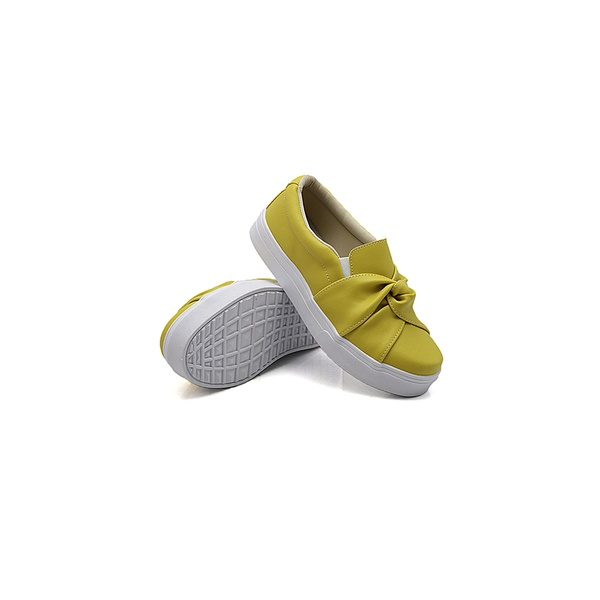 Slip On Nó Infantil Mostarda DKShoes