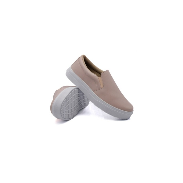 Slip On Liso Infantil Rosê DKShoes