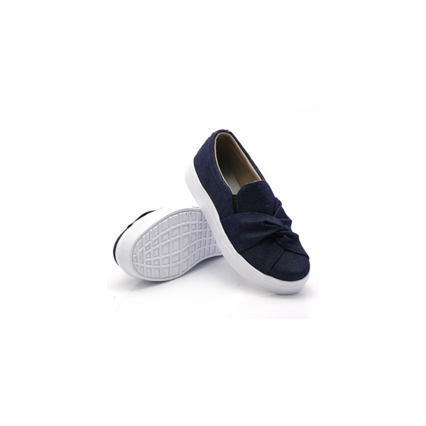Slip On Nó Infantil Jeans DKShoes