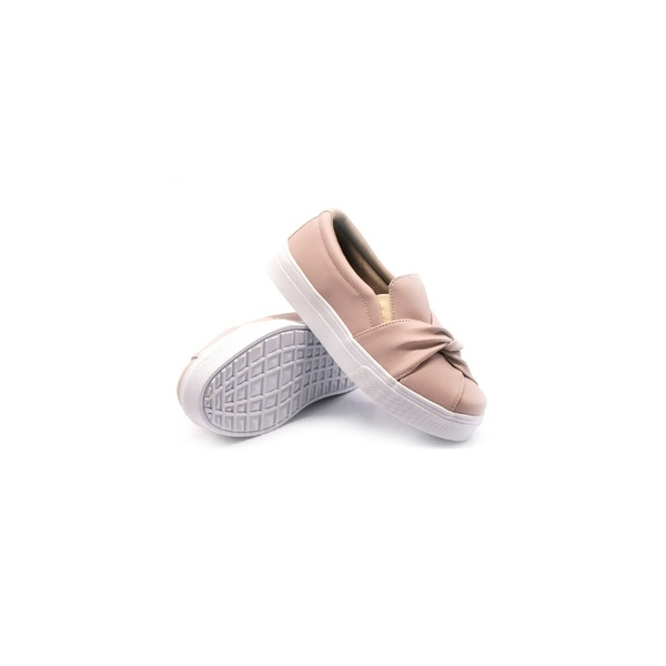 Slip On Nó Infantil Rosê DKShoes