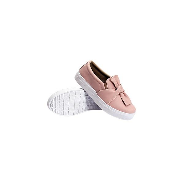 Slip On Laço Infantil Rosê DKShoes