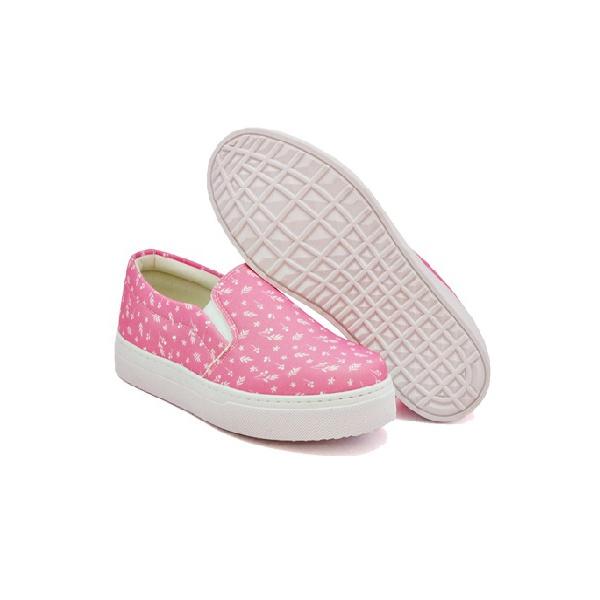 Slip On Estampado Infantil Pink DKShoes