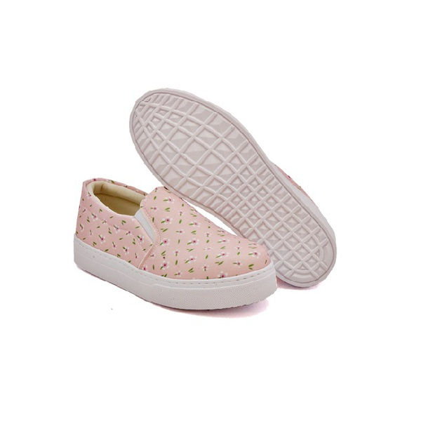Slip On Estampado Infantil Rosê DKShoes