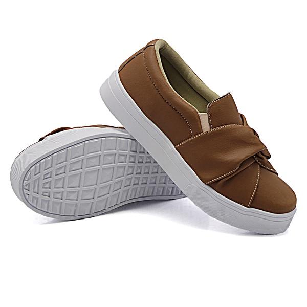 Slip On Nó Caramelo DKShoes